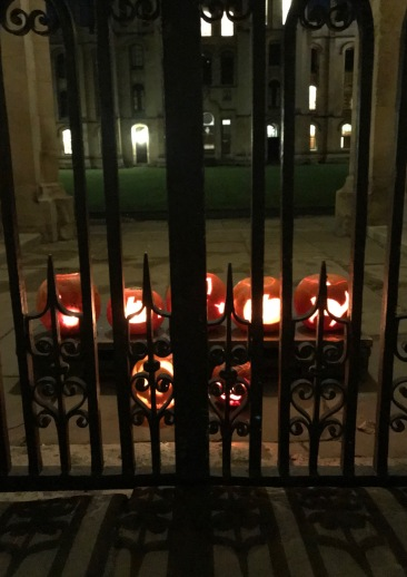 Pumpkins at All Souls College