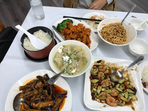 Here's to Sichuan food, especially Dan Dan Noodles (top right)!